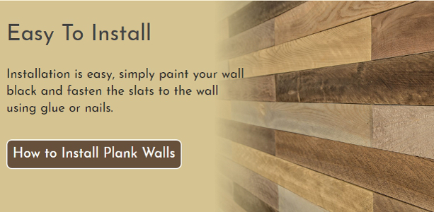 Canadian Plank Wall  Fitting